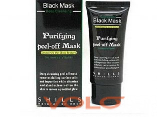 Black mask face purifier. For smoother  and Prettier face