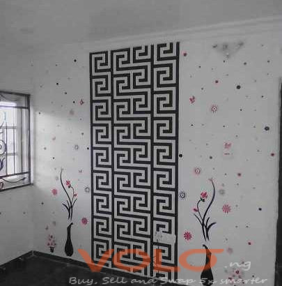 Wallpaper/3D panel and house painting