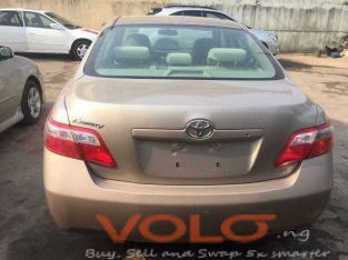 very clean tokunbo 2008 Toyota Camry