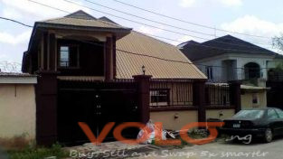 4 bedroom duplex for sale in an estate at oko oba agege Lagos